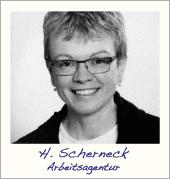 Heike Scherneck, Berufsberatung